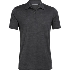 Icebreaker Tech Lite SS Polo Herre jet heather